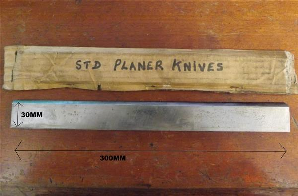 BLADE STD PLANER KNIVES HS 18% 300MM X 30MM