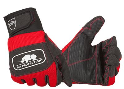CHAINSAW GLOVE- CLASS 1, LEFT HAND PROTECTION